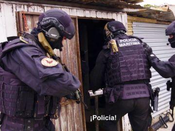 Operación policial contra el marisco ilegal