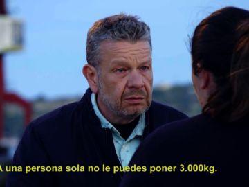 Una comerciante de marisco ilegal explica cómo hacen llegar las almejas de Portugal hasta las depuradoras españolas