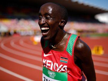 El atleta Edward Zakayo Pingua