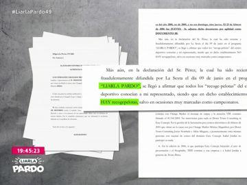 Francisco Camps cita a Liarla Pardo en el recurso que ha presentado contra su último procesamiento