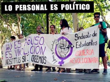 Colectivos feministas celebran en Sevilla la sentencia contra La Manada