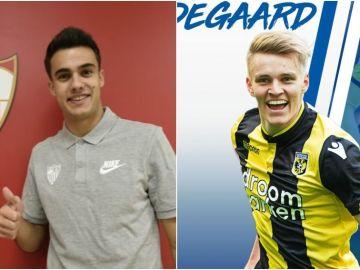 Reguilón y Odegaard, cedidos al Sevilla y a la Real Sociedad