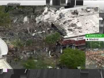 Explosión en un centro comercial de Florida
