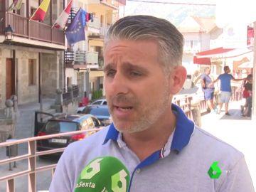 David Segovia, alcalde de Pedro Bernardo