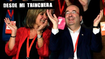 Núria Marín y Miquel Iceta
