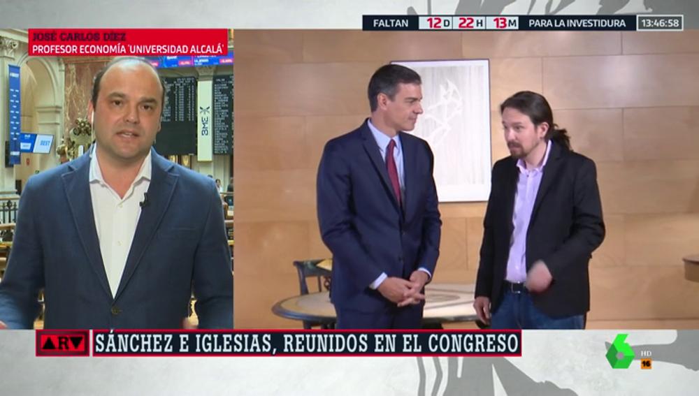 """José Carlos Díez: """"Es necesario formar Gobierno cuanto antes para reactivar la creación de empleo en España"""""""