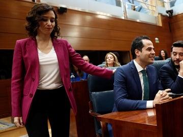 Imagen de archivo de Díaz Ayuso e Ignacio Aguado