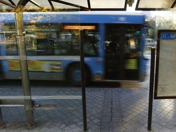 Un autobús de la Empresa Municipal de Transportes (EMT) de Madrid.