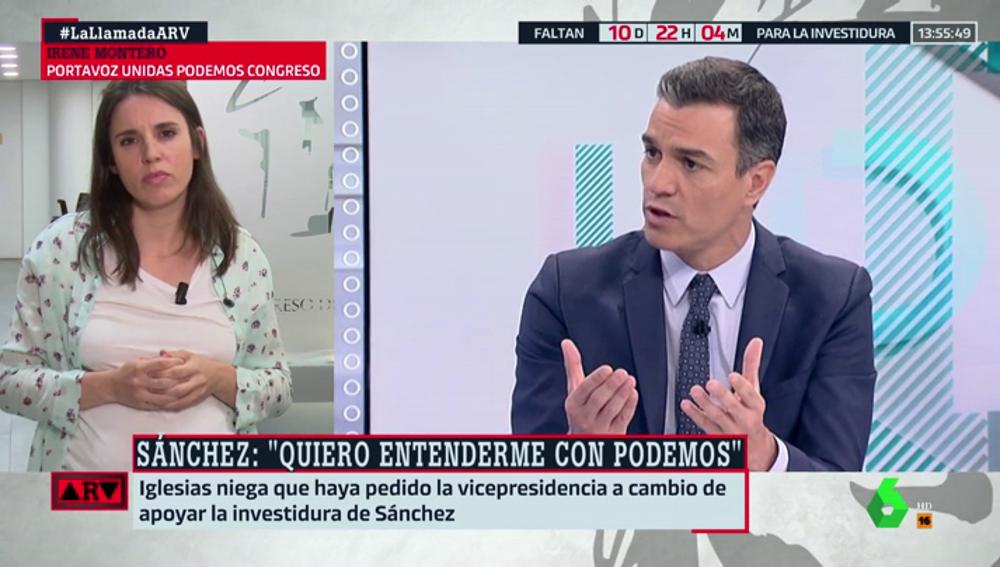 """Irene Montero critica la forma de negociar del PSOE: """"Si fuese en serio, no retransmitirían cada llamada"""""""