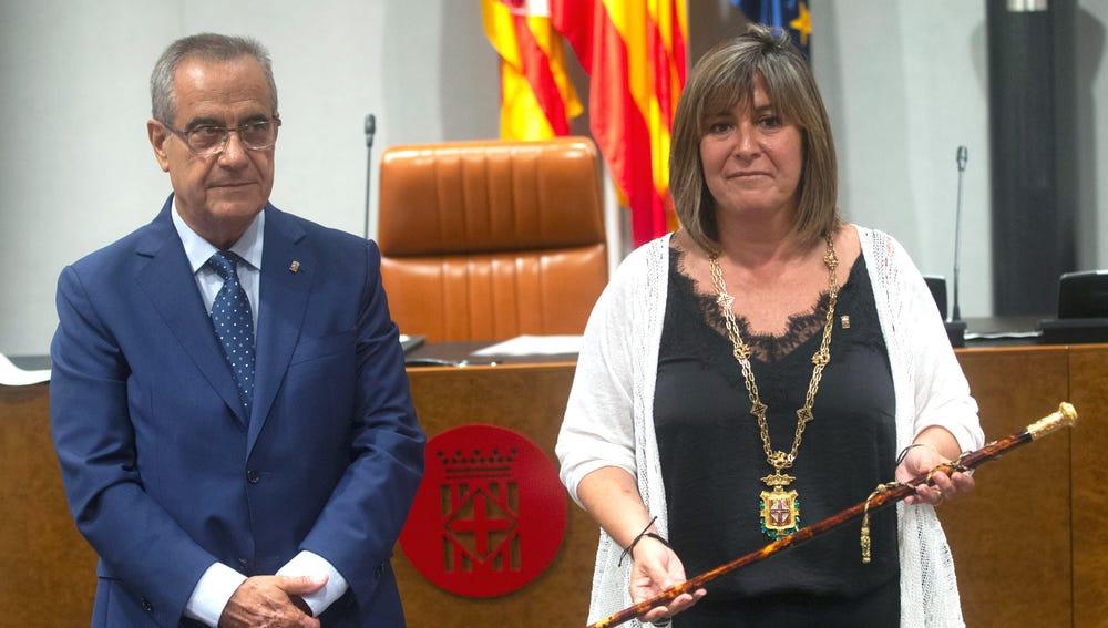 La socialista Núria Marín, nueva presidenta de la Diputación de Barcelona gracias a los votos de JxCat