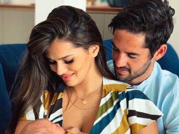Isco Alarcón, Sara Sálamo y el pequeño Theo