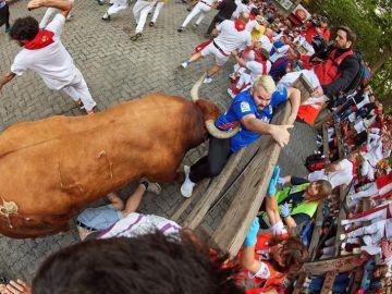 Octavo y último encierro de San Fermín