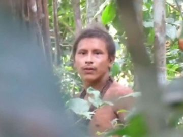 Imagen de la tribu de los Awá