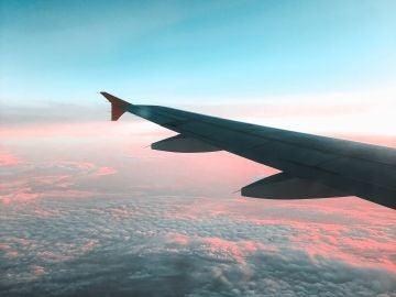 Vista del cielo desde un avión