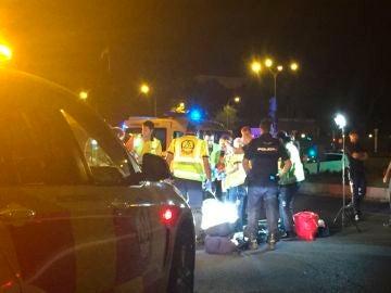 Imagen de archivo de un operativo de Emergencias en Madrid