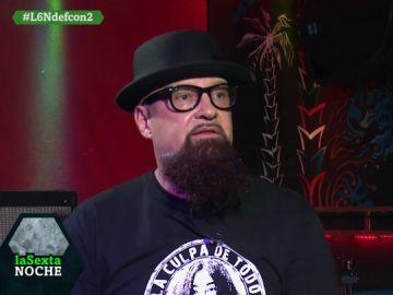 César Strawberry responde a Ortega Smith en laSexta Noche