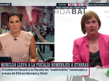 """Uxue Barkos (Geroa Bai): """"Me preocupa que usen a Navarra para desviar la atención de los problemas de la política española"""""""