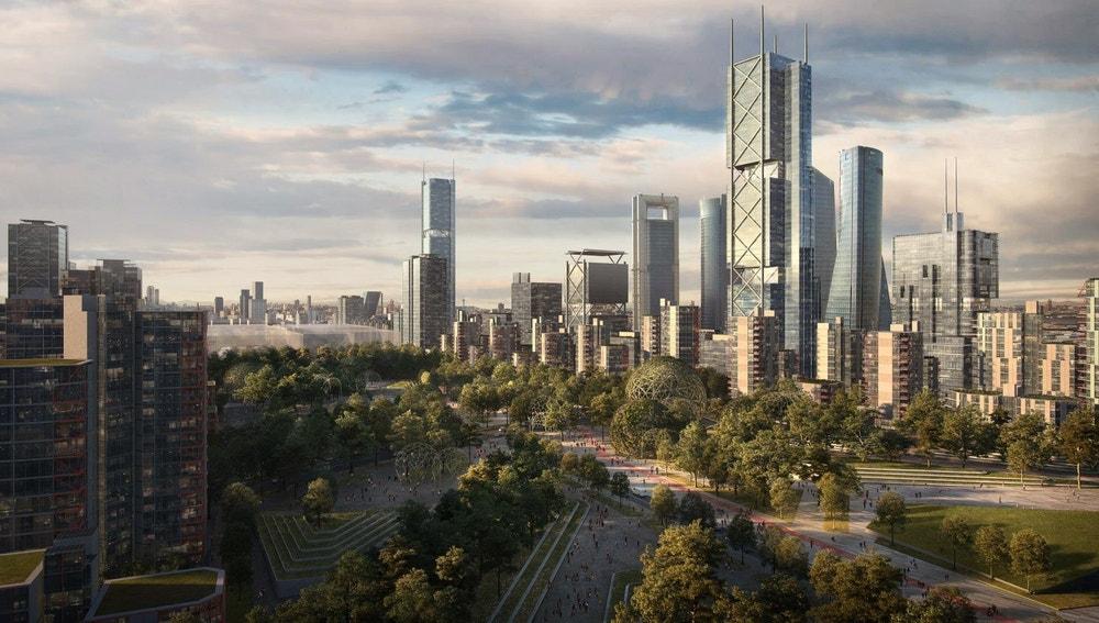 Imagen del proyecto Madrid Nuevo Norte