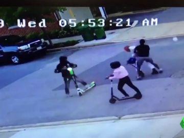 Brutal paliza a un empleado de la Policía de Baltimore
