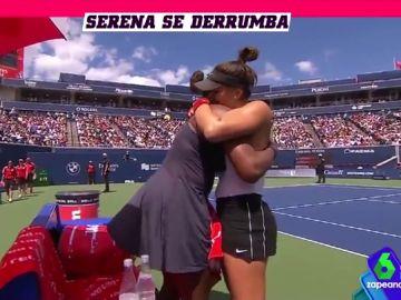 El momento más emotivo del tenis (con abrazo incluido) protagonizado por Serena Williams y Bianca Andreescu