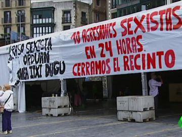 Convocan manifestaciones en San Sebastián y Bilbao contra las agresiones machistas