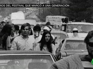 Se cumplen 50 años de 'Woodstock', el festival pacífico que acabó siendo declarado 'zona de desastre'