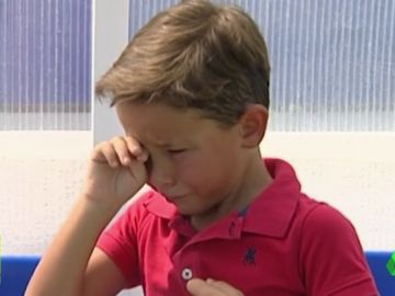 """El regalo de Adrián San Miguel a un niño de 5 años del Pilas: """""""""""