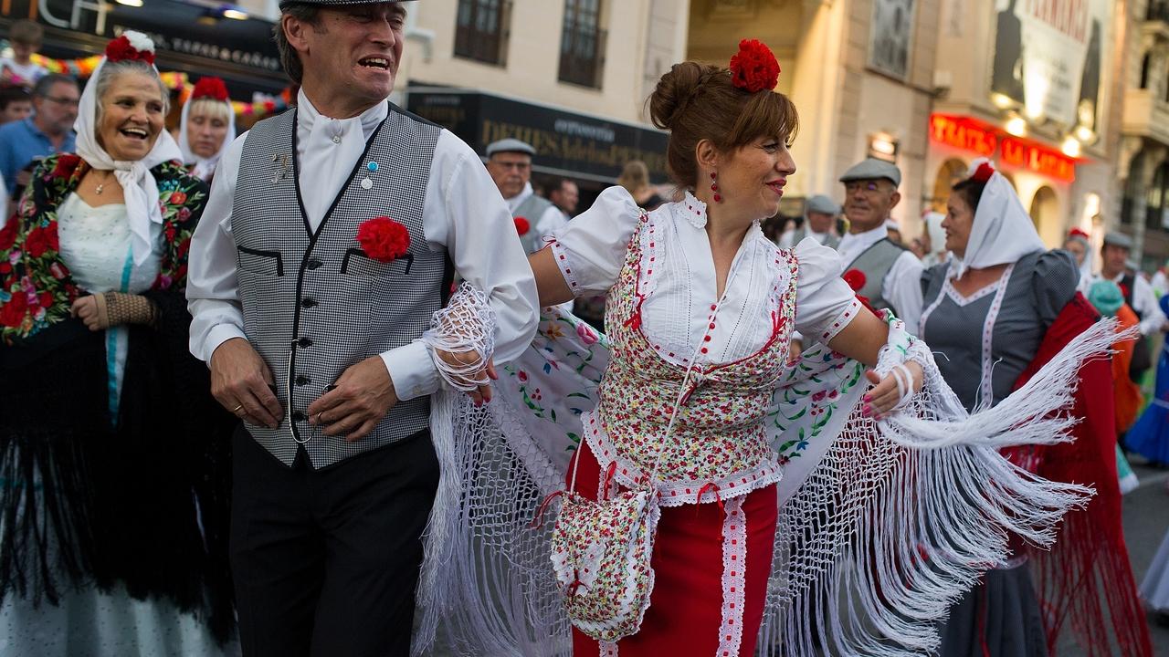 Fiestas de La Paloma en Madrid