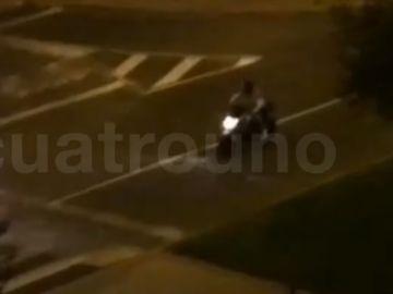 Denuncian carreras ilegales de motoristas en Logroño