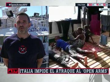 Íñigo Mijangos, presidente de Salvamento Marítimo Humanitario