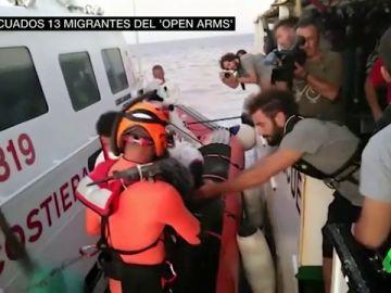 Los datos de la agonía a bordo del Open Arms: 134 migrantes a bordo y seis evacuaciones de emergencia