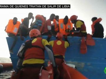 EL INFIERNO DE SALIR DE LIBIA