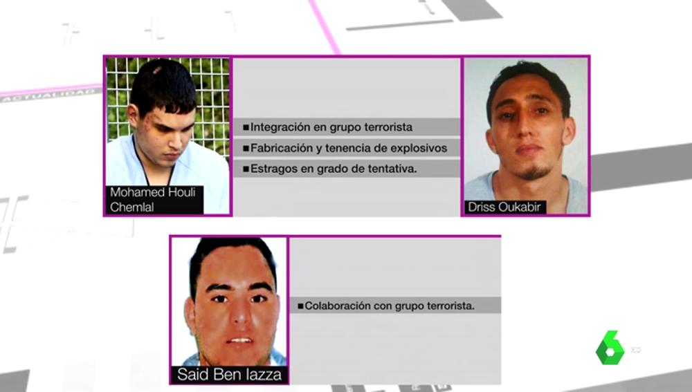 Esta es la situación actual de los presuntos integrantes de la célula yihadista de Ripoll