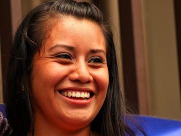 Evelyn Hernández.