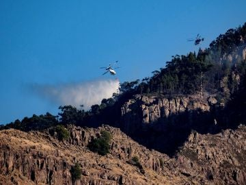 El incendio en Gran Canaria, estabilizado y camino de ser controlado