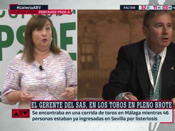 """El PSOE andaluz critica la gestión del PP con el brote de listeriosis: """"Hay una falta de humanidad de los que gobiernan en Andalucía"""""""