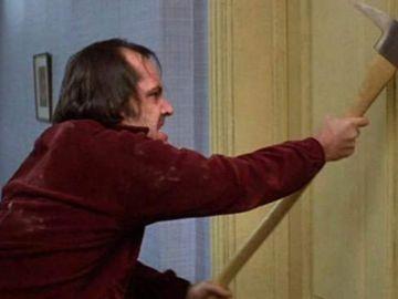 El hacha de Jack Nicholson en 'El Resplandor' que será subastada en Londres.
