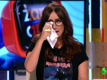 """El motivo por el que Ana Morgade ha arrancado Zapeando llorando: """"Son lágrimas de alegría"""""""