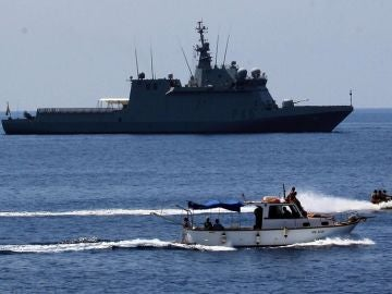 El buque 'Audaz' de la Armada Española