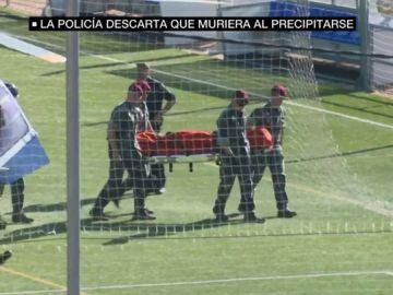 Traslado del cadáver de Blanca Fernández Ochoa