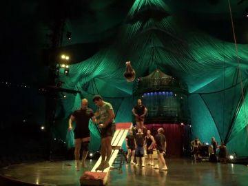 Los entrenamientos del Circo del Sol son igual de impresionantes que sus espectáculos: nos colamos en ellos