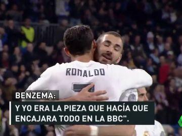 Benzema se considera la clave de la BBC