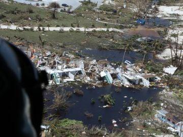 Los efectos del huracán Dorian