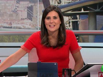 """María Llapart se despide de Al Rojo Vivo: """"El lunes vuelve mi sustituto, un señor que se llama Ferreras"""""""