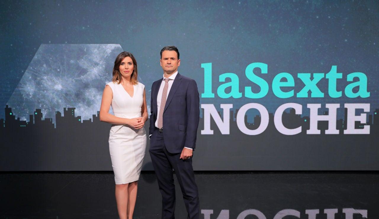 Lasexta Noche Sábados A Las 21 00 Con Iñaki López Y Verónica Sanz