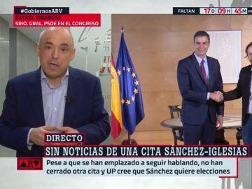 """La crítica de Simancas (PSOE) a Unidas Podemos: """"Vuelven una y otra vez al Gobierno de coalición y eso no funciona"""""""