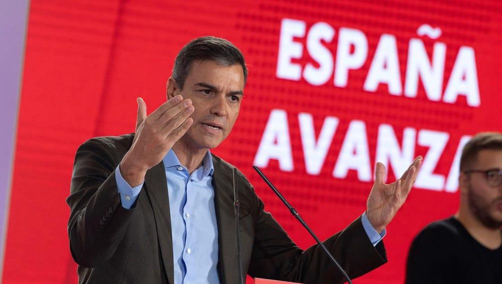 Imagen de Pedro Sánchez en Toledo