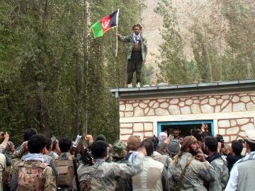 Imagen de archivo de un grupo de talibanes