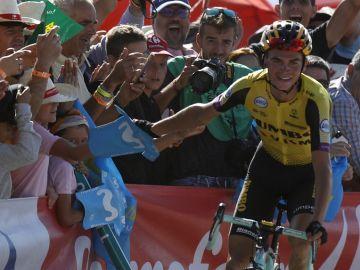 Sepp Kuss en la Vueltaa España 2019