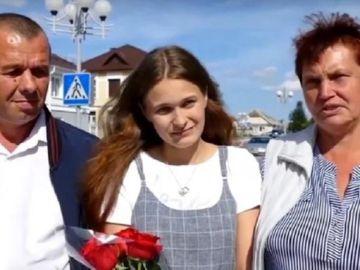 Yulia Moiséyenko se reencuentra con sus padres 20 años después